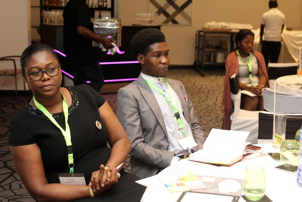 Elo Iyayi, Managing Director, Sharemind Lagos; Oluwole Olukoju, Digital Strategist, Sharemind Lagos.