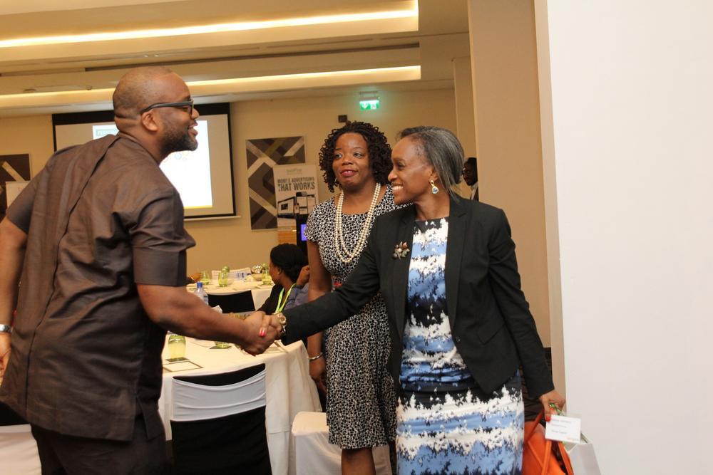 Chika Nwobi, Founder/CEO, L5LAB; Omobola Johnson, General Partner at TLCom Capital; Nneka Nwobi, Non-Executive director, Terragon.