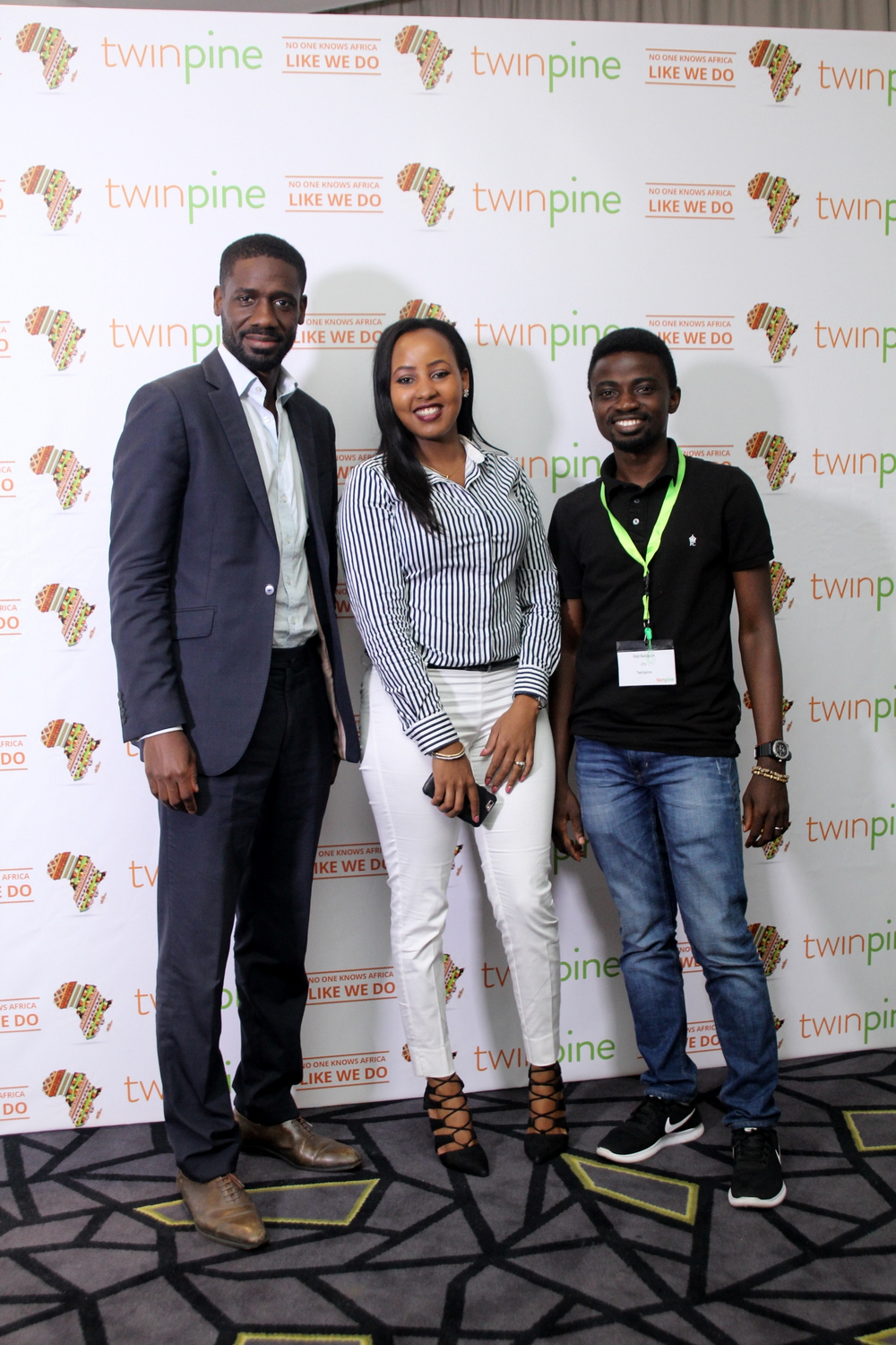 Guy-Bertrand Njoya, Synekas Consult; Teresia Kinuthia, Regional Manager, East and Central Africa, Terragon; Ayodeji Balogun, Chief Technology Officer, Twinpine