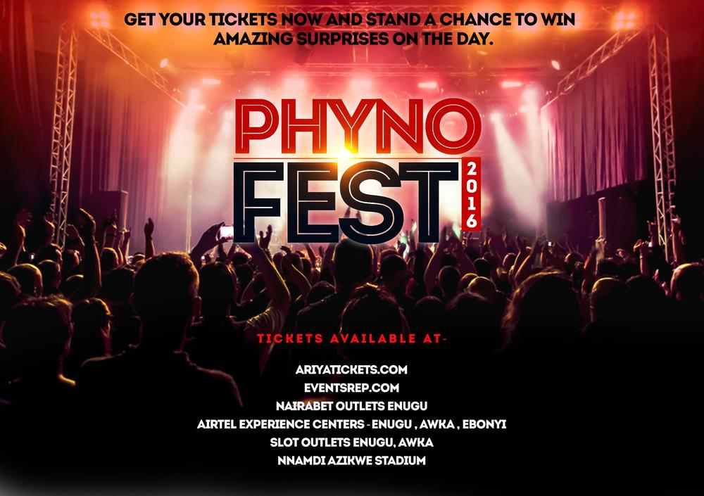 Phyno Appreciates Fans with Phyno Fest Concert 2016! Olamide