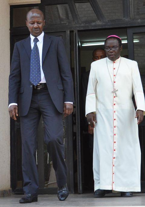 EFCC Boss, Ibrahim Magu and Bishop Kukah