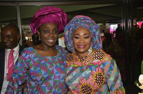 L-R Minister of Finance Kemi Adeosun and Pastor Siju Iluyomade Convener Arise Womens Conference
