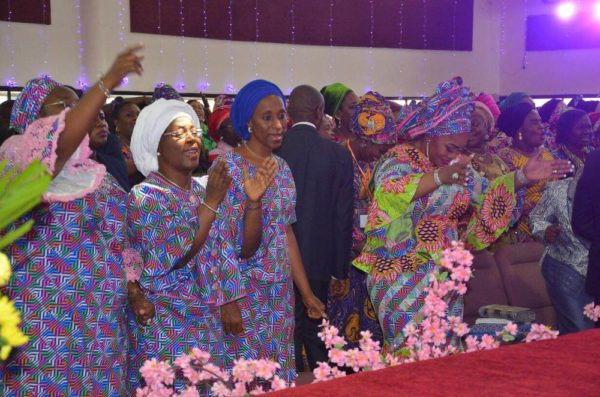 l-r-mrs-labo-ademola-head-of-servicelagos-state-h-e-mrs-dolapo-osinbajo-wife-of-the-vice-president-of-federal-republic-of-nigeria-pastor-mrs-siju-iluyomade-convener-arise-women-conference