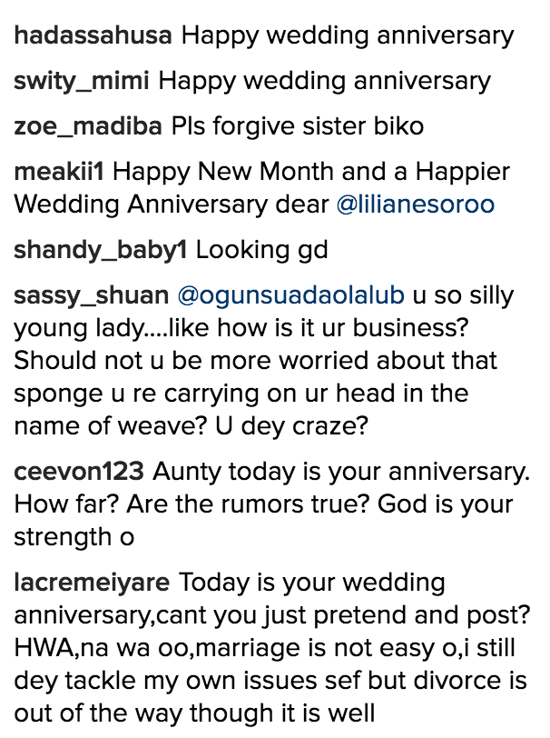 lilian-esoro-and-ubi-franklin-wedding-anniversary-drama_1