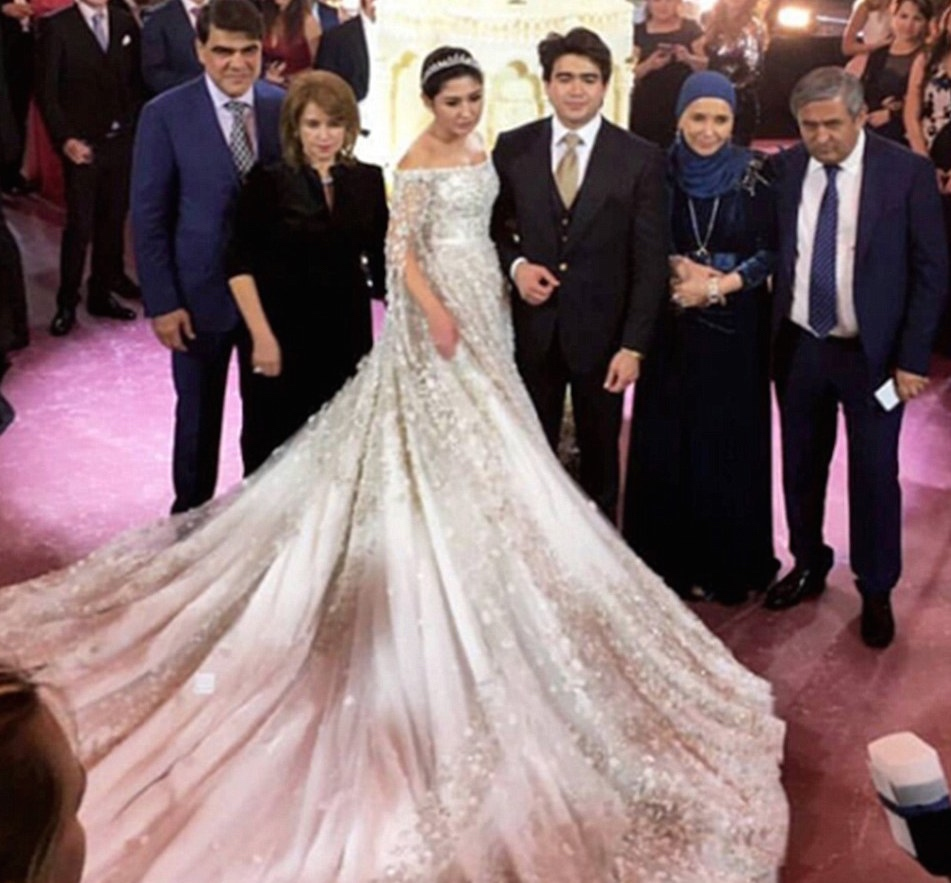 madina-shokirova-russian-tycoon-wedding_02_bellanaija  Daughter of Russian Oil Tycoon Marries in a Lavish Wedding Ceremony wearing a £500,000 Dress with a 10ft Cake, Private Jets & more! Madina Shokirova russian tycoon wedding 02 bellanaija
