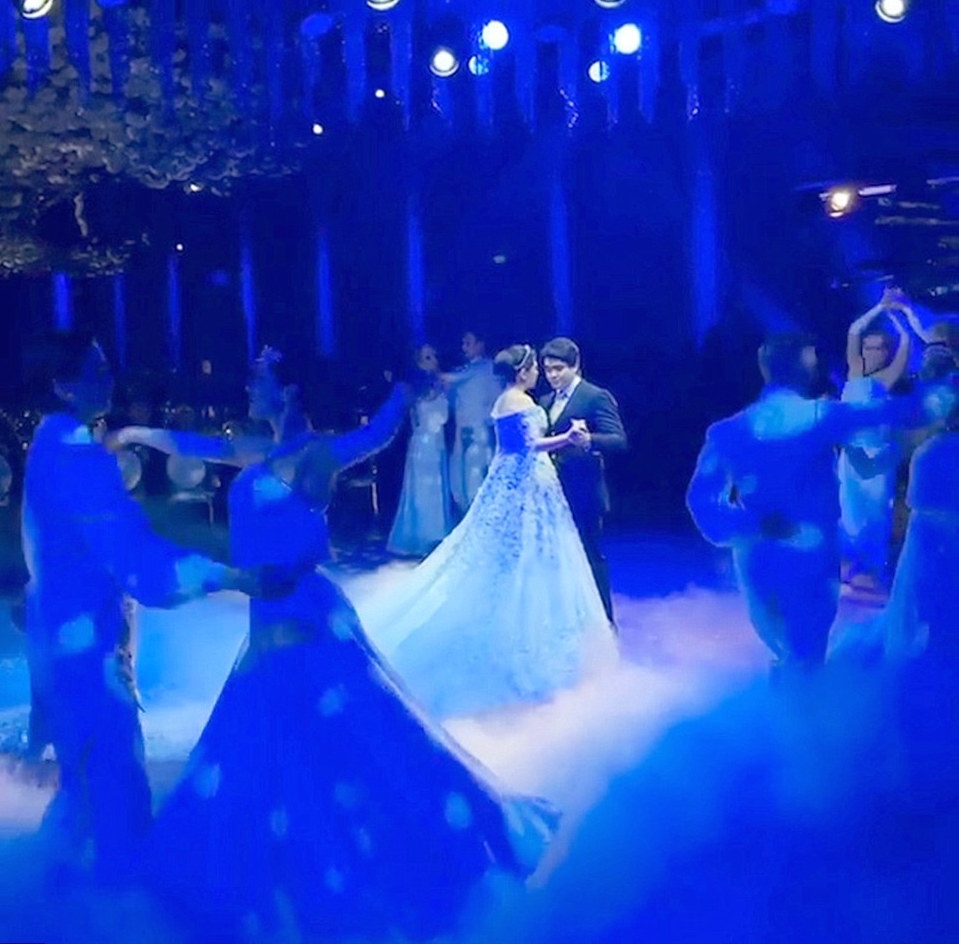 madina-shokirova-russian-tycoon-wedding_03_bellanaija  Daughter of Russian Oil Tycoon Marries in a Lavish Wedding Ceremony wearing a £500,000 Dress with a 10ft Cake, Private Jets & more! Madina Shokirova russian tycoon wedding 03 bellanaija