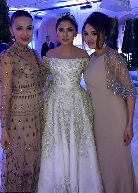 madina-shokirova-russian-tycoon-wedding_08_bellanaija  Daughter of Russian Oil Tycoon Marries in a Lavish Wedding Ceremony wearing a £500,000 Dress with a 10ft Cake, Private Jets & more! Madina Shokirova russian tycoon wedding 08 bellanaija
