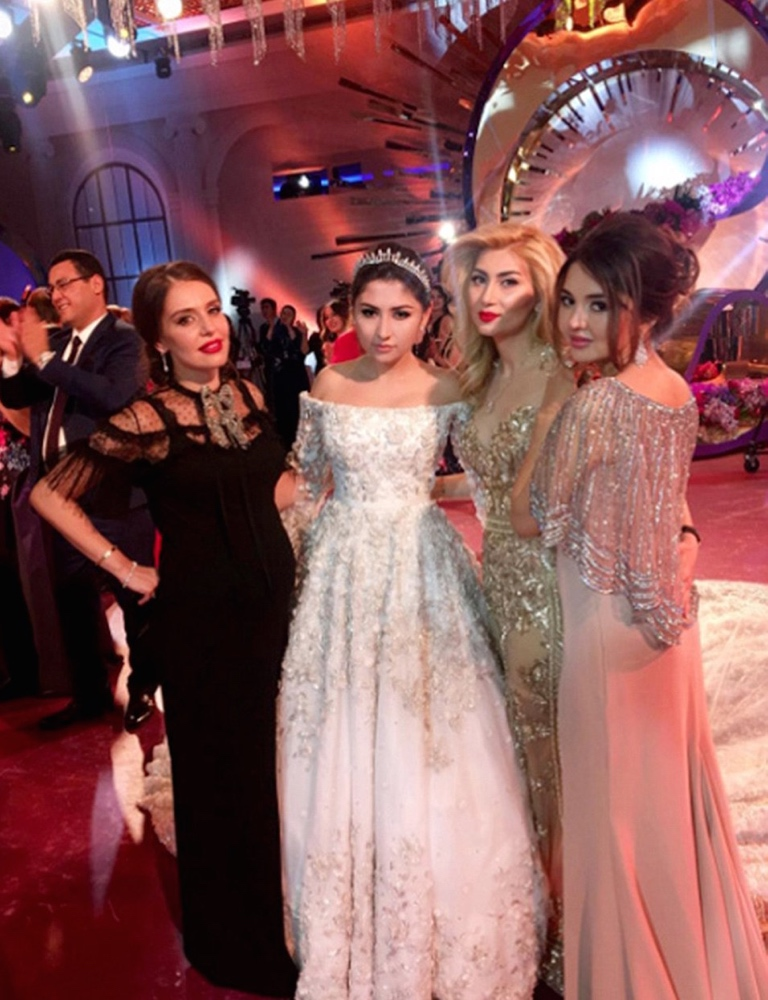 madina-shokirova-russian-tycoon-wedding_10_bellanaija  Daughter of Russian Oil Tycoon Marries in a Lavish Wedding Ceremony wearing a £500,000 Dress with a 10ft Cake, Private Jets & more! Madina Shokirova russian tycoon wedding 10 bellanaija