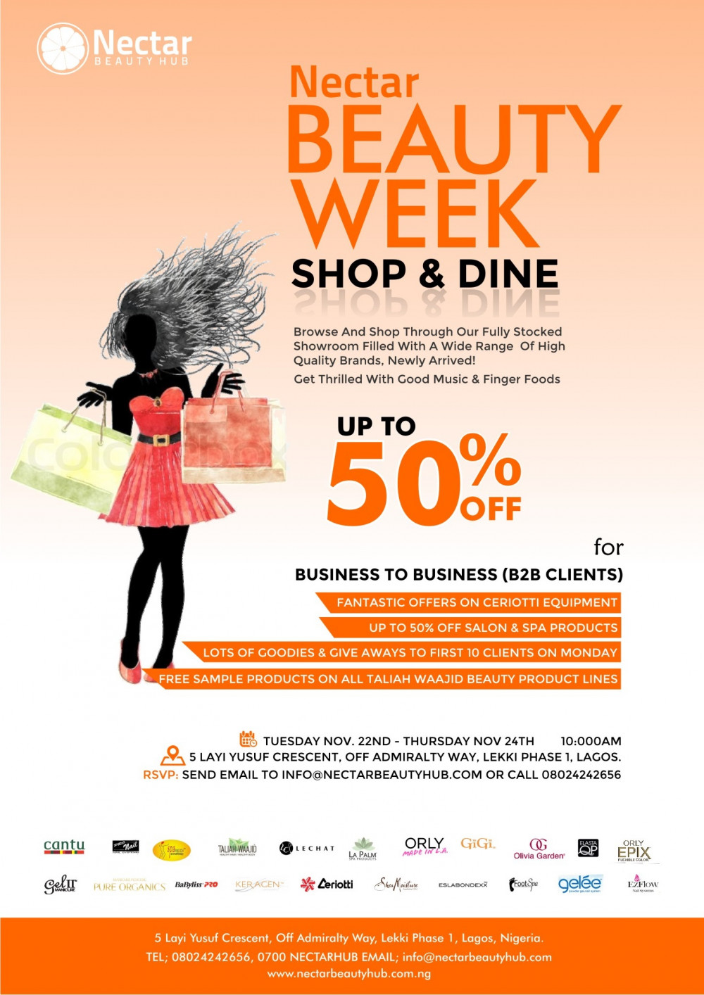 406dedd45a5 Enjoy the Ultimate Shopping Experience at The Nectar Beauty Week ...
