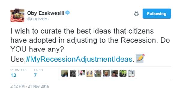 oby-ezekwesili-recession-adjustment-ideas