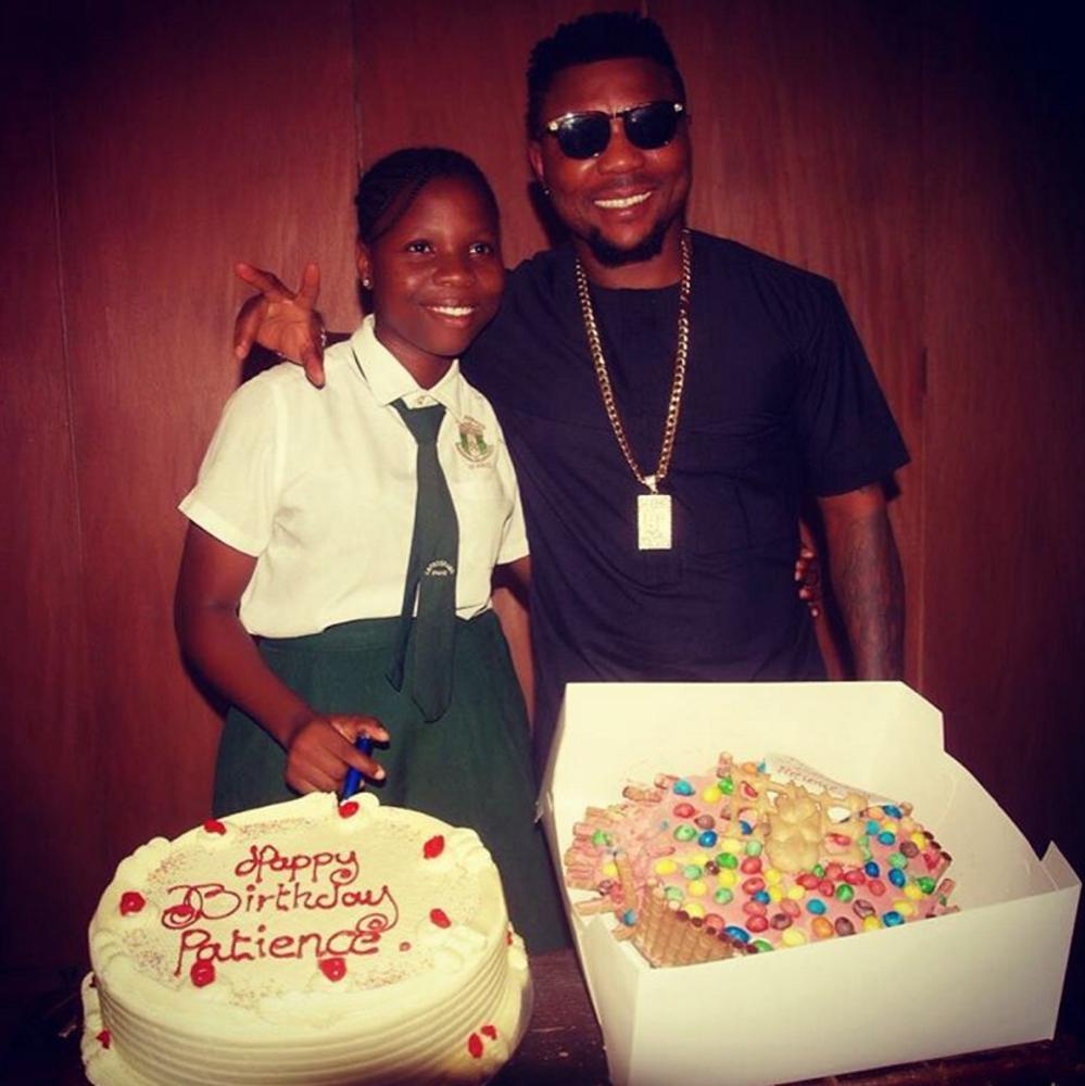 Oritse Femi's Caption: Happy birthday dear...I wish you all best ....jah guide .