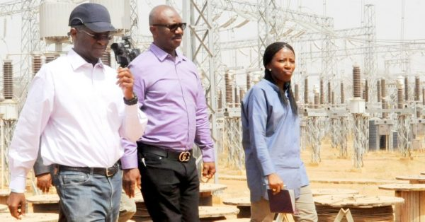 Minister Fashola Inspects Kukwaba Power Project in Abuja