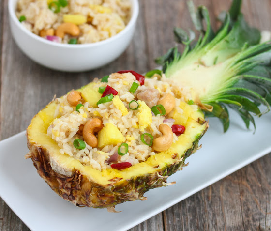 ... to a Classic with this Mouth Watering Recipe for Pineapple Fried Rice