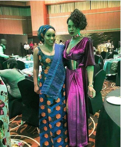 Rita Dominic & Yvonne Nwosu