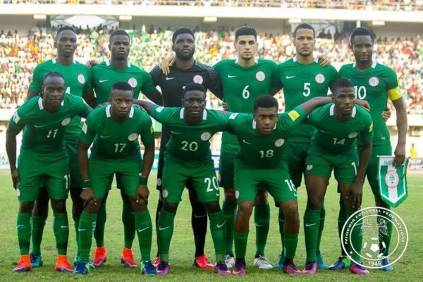 Watch Super Eagles sing & promise to hold the hands & waist of Nigerians - BellaNaija