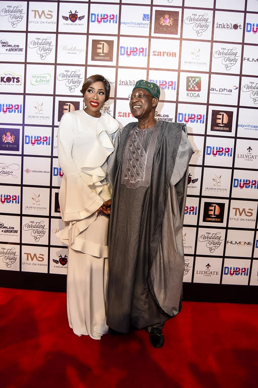 Lai Mohammed and Mo Abudu
