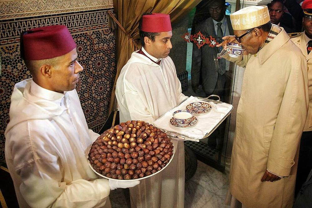 President Buhari arrives Morocco3