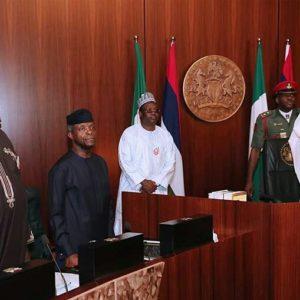 President buhari- FEC Meeting