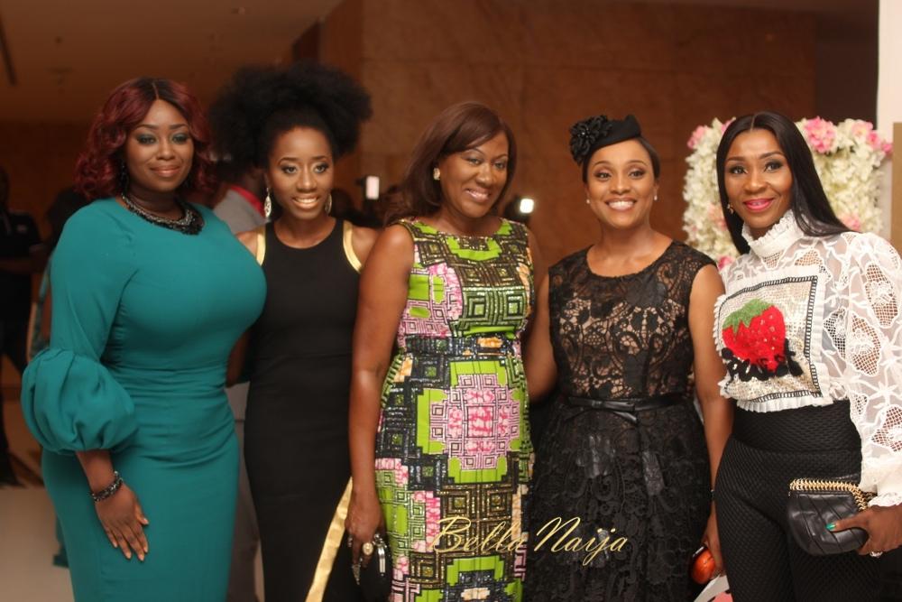 Peace Hyde, Kaline, Nimi Akinkugbe, Ifeoma Williams, Dr Vivian Oputa