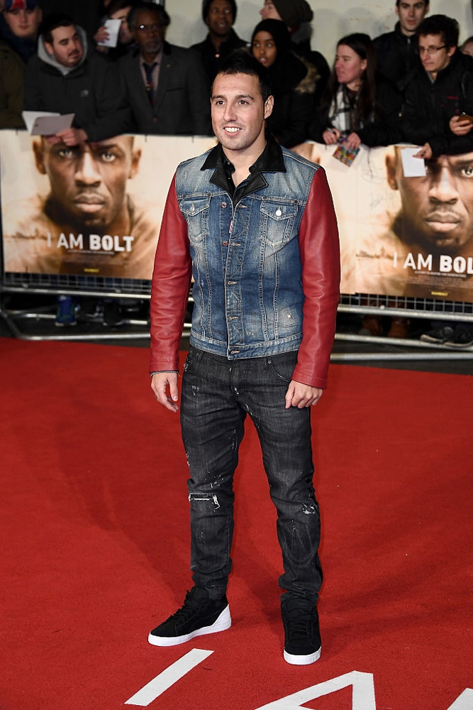 "LONDON, ENGLAND - NOVEMBER 28: Footballer Santi Cazorla attends the World Premiere of ""I Am Bolt"" at Odeon Leicester Square on November 28, 2016 in London, England.  (Photo by Gareth Cattermole/Getty Images)"