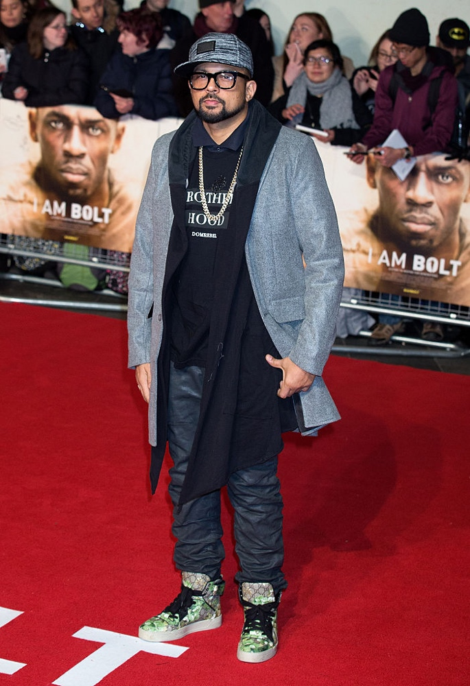 "LONDON, ENGLAND - NOVEMBER 28:  Sean Paul attends the World Premiere of ""I Am Bolt"" at Odeon Leicester Square on November 28, 2016 in London, England.  (Photo by Dave J Hogan/Getty Images)"