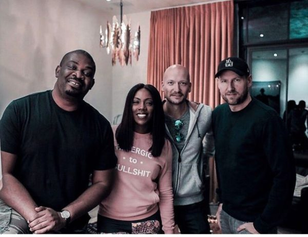 "Don Jazzy & Tiwa Savage are ""Up To Something"" with International Producer Stargate"