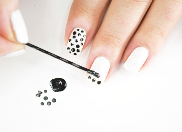 Monday Manicure with Eki Bobby Pins for Nail Art Heres How to