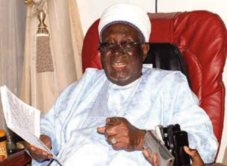 Late Alhaji Ibrahim Dasuki, 18th Sultan of Sokoto