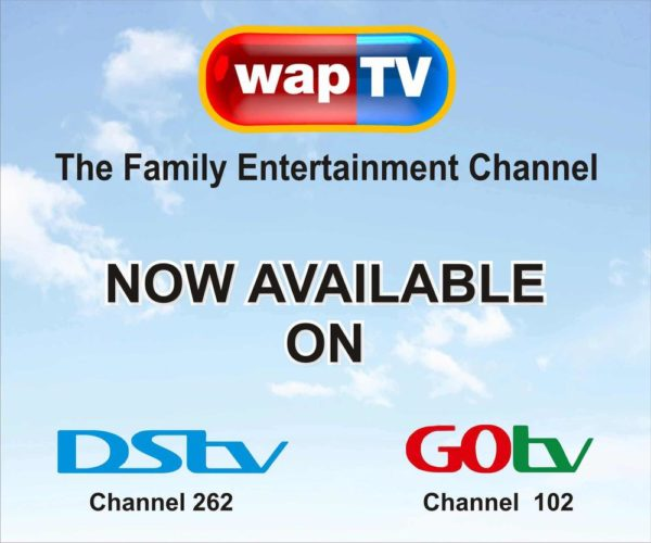 wapTV, the Family Entertainment Channel, is now Available on DStv