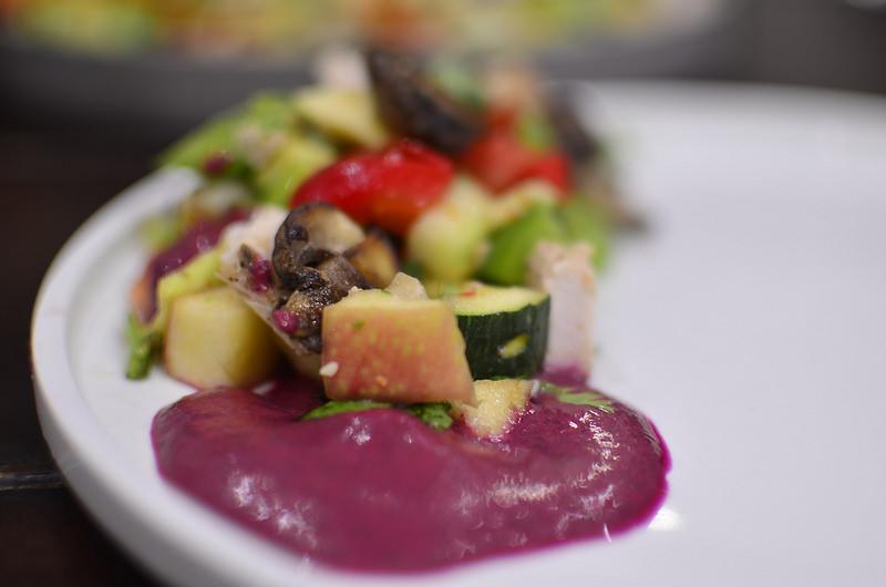 Zucchini Mixed Salad