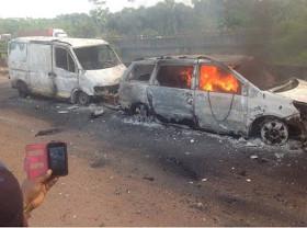 Benin-Asaba Petrol tanker accident3