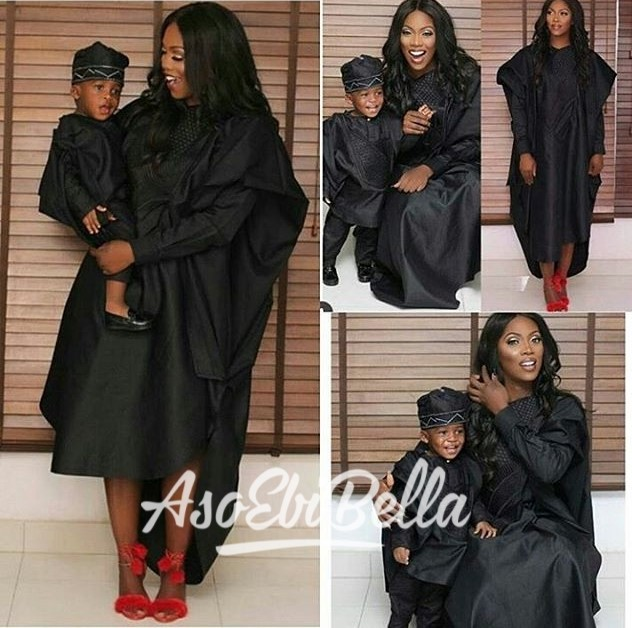 @tiwasavage and son JamJam