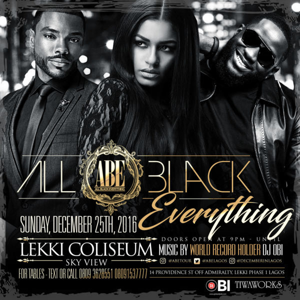 "The ""All Black Everything"" Party Is Back! Party With"