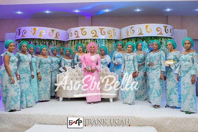 Beautiful Bride & her #AsoEBiBella Photography by @frankugahphotography