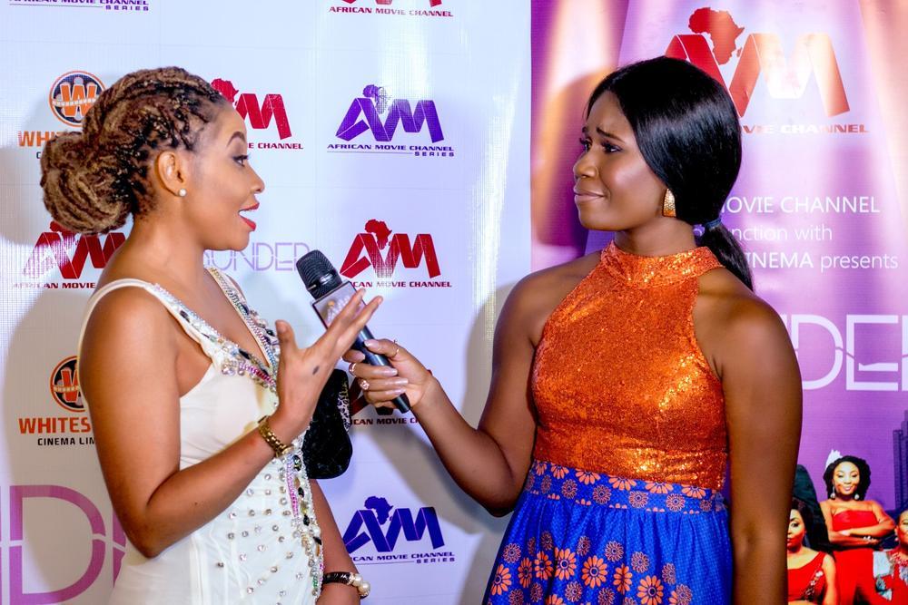 Benita Nzeribe and Sandra Eze
