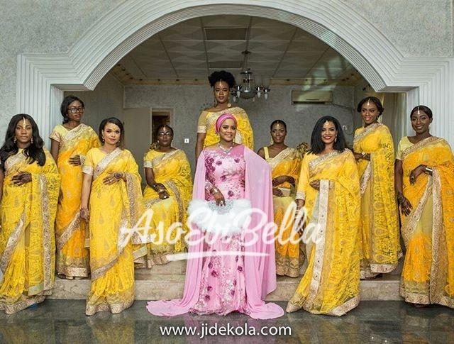 Bride & her #AsoEbiBella Photography by @jidekola Event planner @2706events