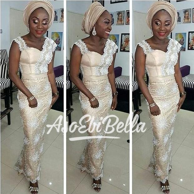 Fabric @morayoasoasiko Dress by @betho_official MUA @_beautybyqueen @_beautybyqueen
