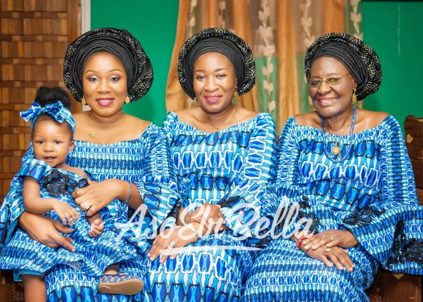 Four Generations @oteniaramakeovers Asooke by @doppybridals_asooke_beads Outfits by @viachia_collections Photography by @biyiadeleke