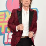 NEW YORK, NY - NOVEMBER 15:  Mick Jagger of The Rolling Stones attends The Rolling Stones celebrate the North American debut of Exhibitionism at Industria in the West Village on November 15, 2016 in New York City.  (Photo by Michael Loccisano/Getty Images)