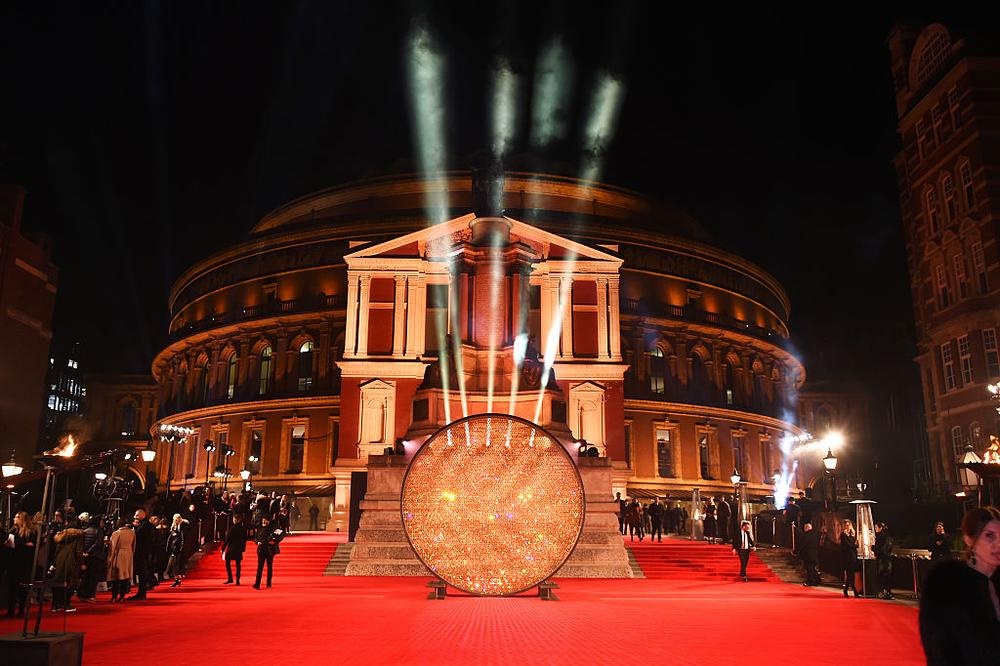 LONDON, ENGLAND - DECEMBER 05:  A general view of the atmosphere at The Fashion Awards 2016 at Royal Albert Hall on December 5, 2016 in London, United Kingdom.  (Photo by David M. Benett/Dave Benett/Getty Images)