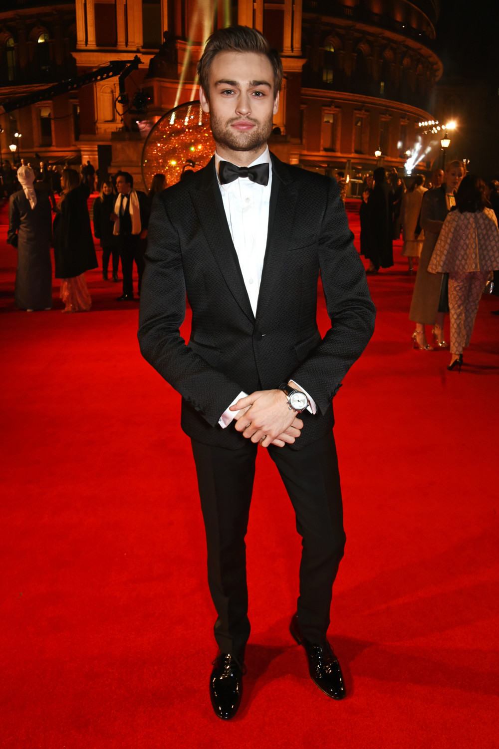 LONDON, ENGLAND - DECEMBER 05: Douglas Booth attends The Fashion Awards 2016 at Royal Albert Hall on December 5, 2016 in London, United Kingdom. (Photo by David M. Benett/Dave Benett/Getty Images)