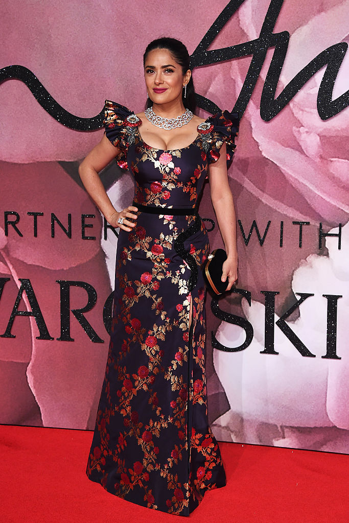 walks the red carpet for the British Fashion Awards 2016 on December 5, 2016 in London, England.