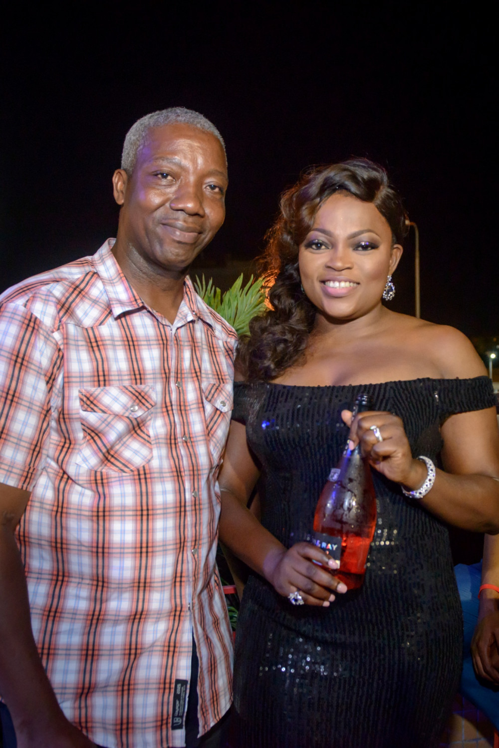 Kelvin Okechukwu of Scavi Ray and Funke Akindele