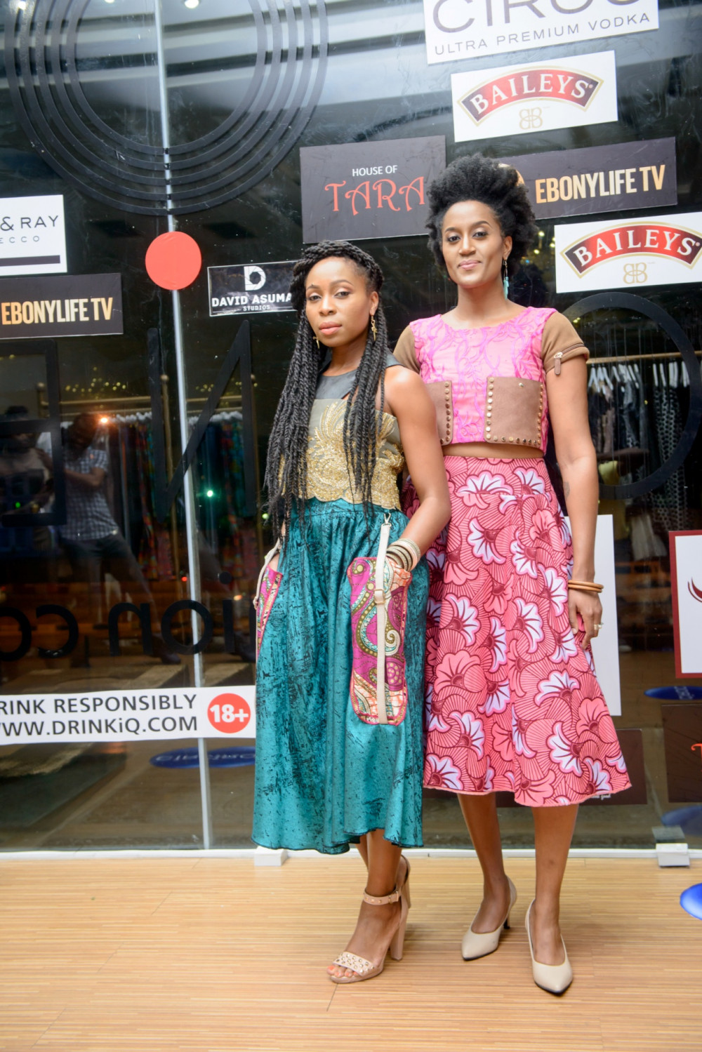 Mary Akpa and Ayo Awosika