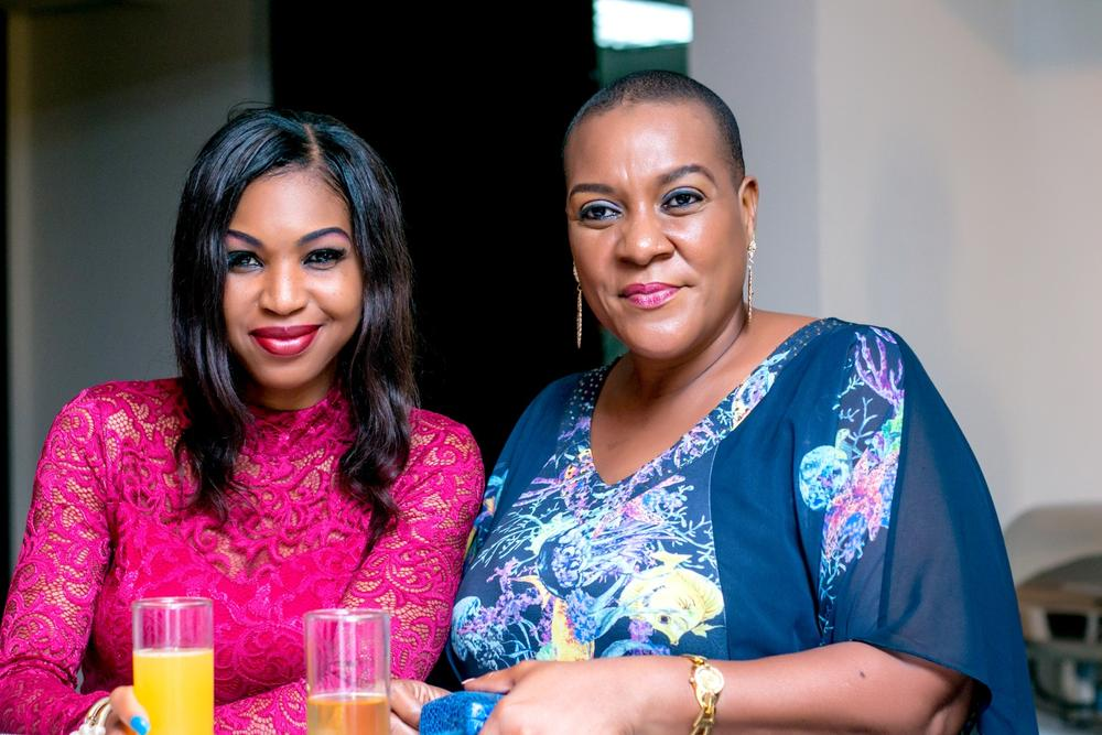 Maureen Okpoko and a guest