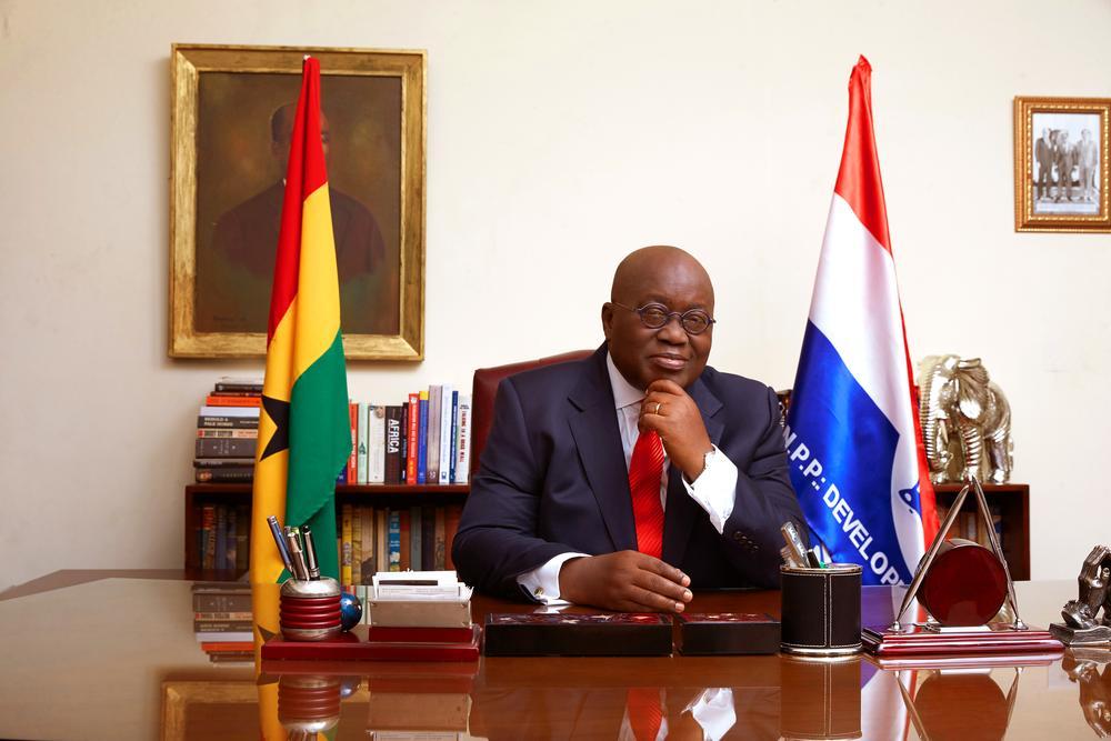 President-elect of Ghana, Nana Akufo-Addo