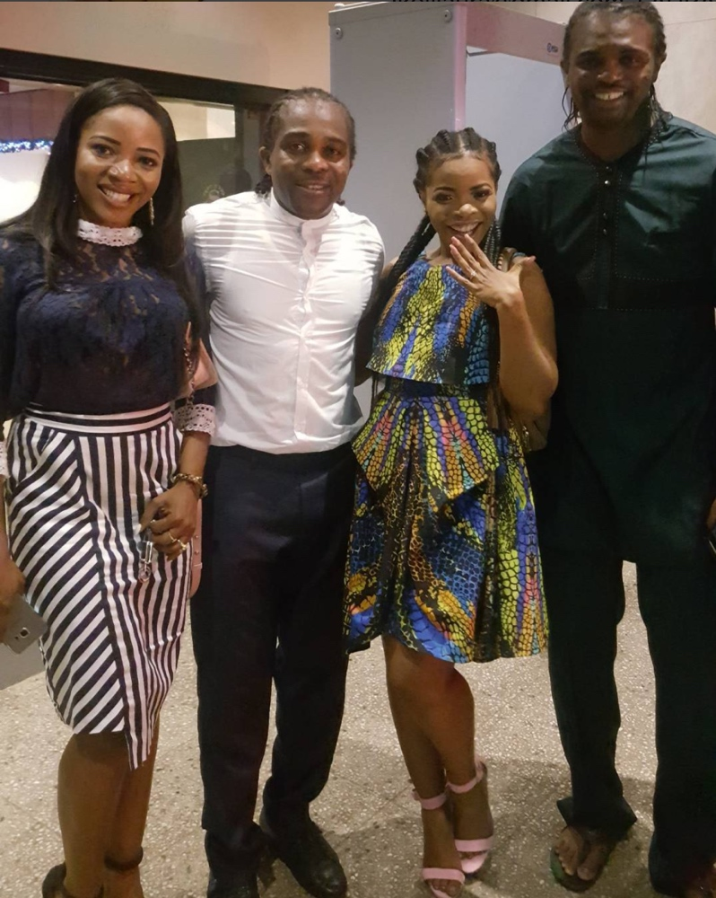 Image result for laura ikeji engagement