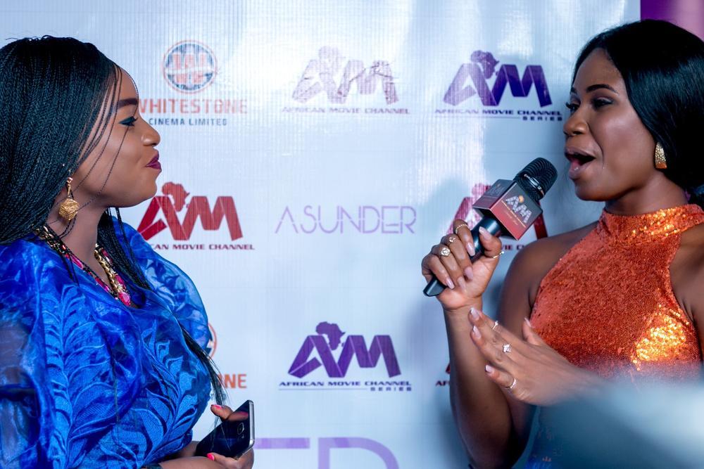 Shile Ibironke and Sandra Eze