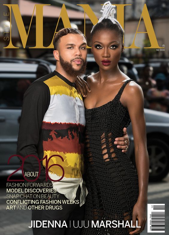 "Image result for Jidenna, Uju Marshall cover StyleMania's ""About 2016"" issue"