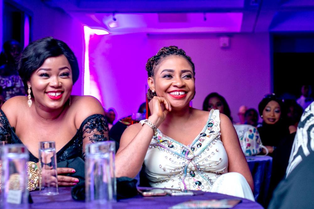 Tessy Oragwa and Benita Nzeribe